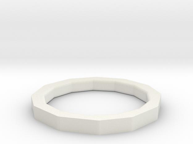 Modeling hair ring in White Natural Versatile Plastic