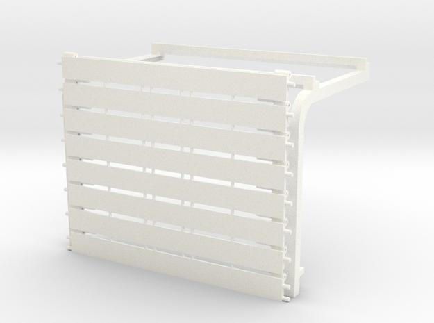"Overhead Door 22.5' w x 14.5' h (4.25"" x 2.75"")Kit in White Processed Versatile Plastic"