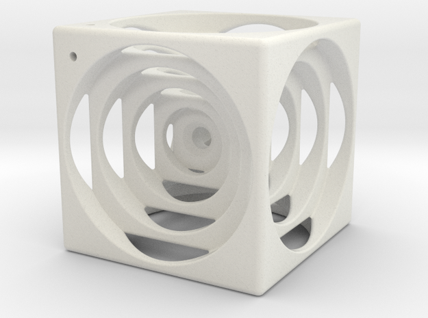think outside the cube in White Natural Versatile Plastic