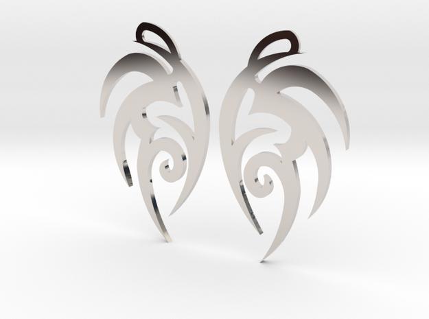 """Tribal """"Earth spirit"""" Earrings"""