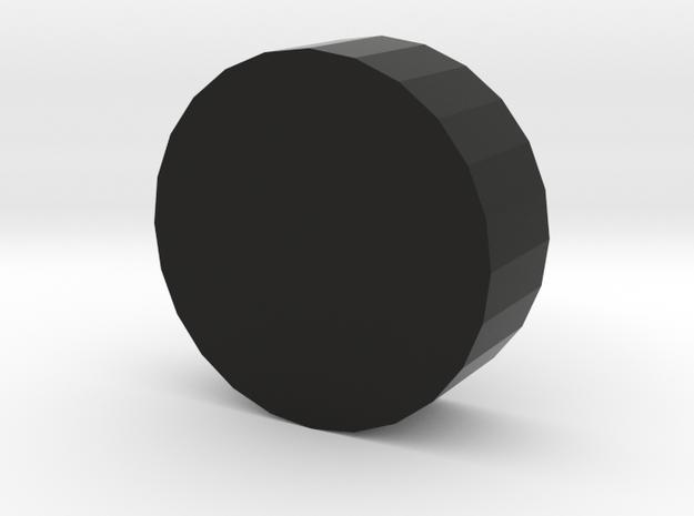104105122 coaster in Black Natural Versatile Plastic