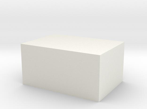 104105122 cover in White Natural Versatile Plastic