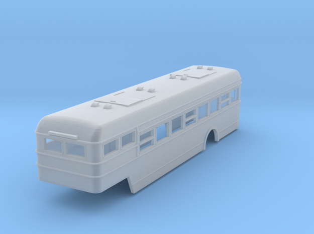 DAF busoplegger, schaal 1:120  in Smooth Fine Detail Plastic