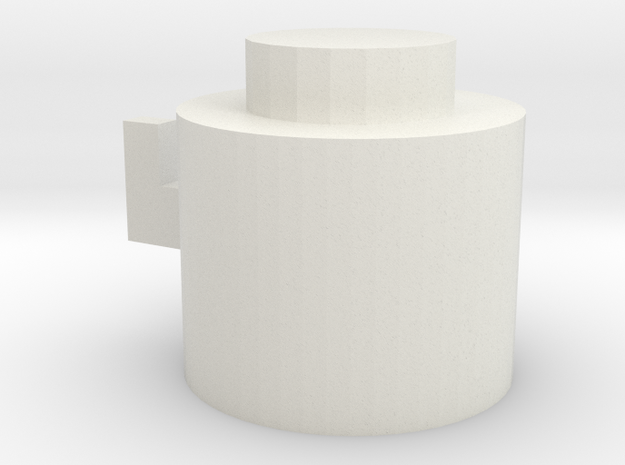 Hats dedicated hook additional hook in White Natural Versatile Plastic