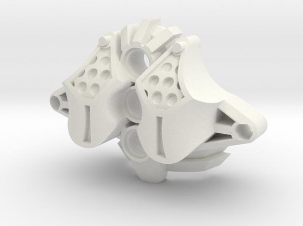 Ceri Armor 1 in White Natural Versatile Plastic