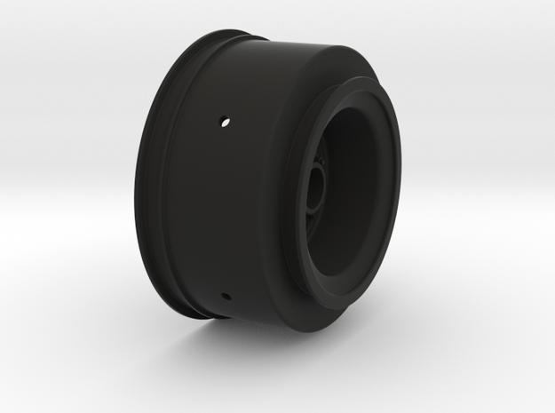 3386 - Startec Slash - Bandit rear wheel in Black Natural Versatile Plastic