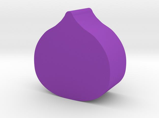 Fig Game Piece in Purple Processed Versatile Plastic