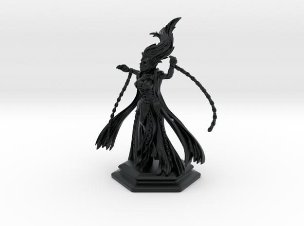 banshee in Black Hi-Def Acrylate: Extra Small
