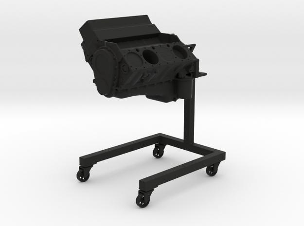 V8 Engine WIP - 1/10 in Black Natural Versatile Plastic