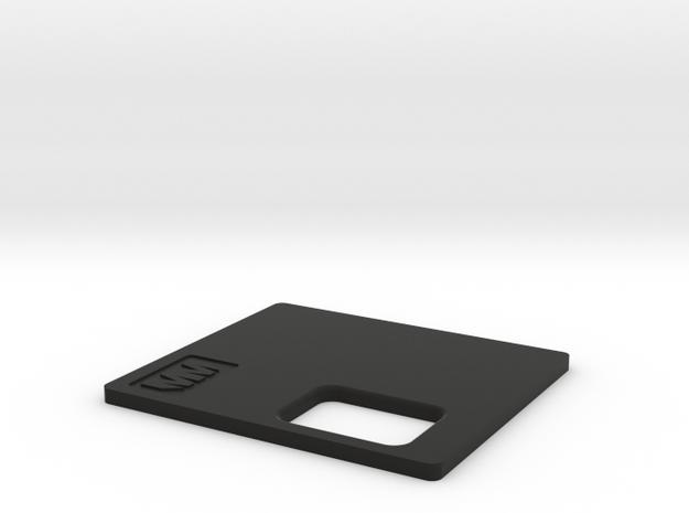 MM Mech Squonk Lid Parallel 18650 in Black Natural Versatile Plastic