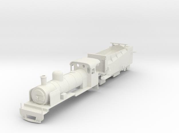 BM4-008E 009 SAR NG15 - NG124 Apple Express 4mm in White Natural Versatile Plastic