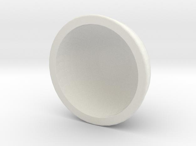 Art bird tank top half in White Natural Versatile Plastic