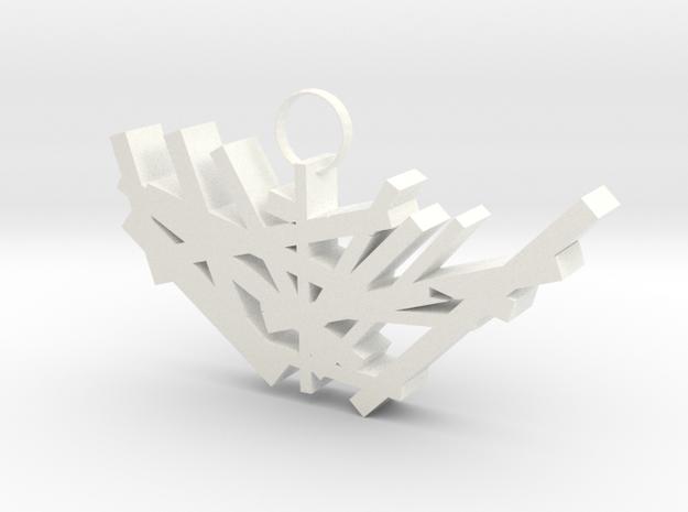 Nest in White Processed Versatile Plastic