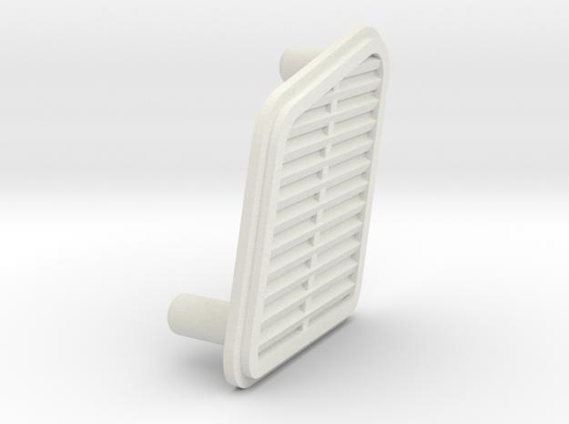 unimog 425 side vent in White Natural Versatile Plastic