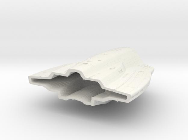 1400 Aventine Hull 2 in White Natural Versatile Plastic