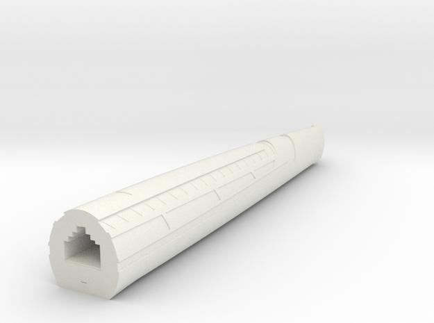 1400 Aventine Left nacelle 2 in White Natural Versatile Plastic