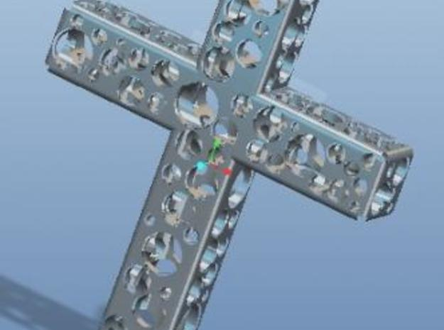 Cross 3d printed Description