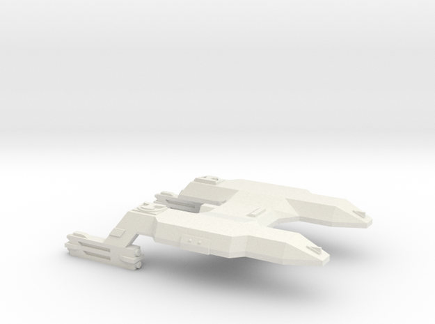 3125 Scale LDR Transport (No Pallets/Pods) CVN in White Strong & Flexible