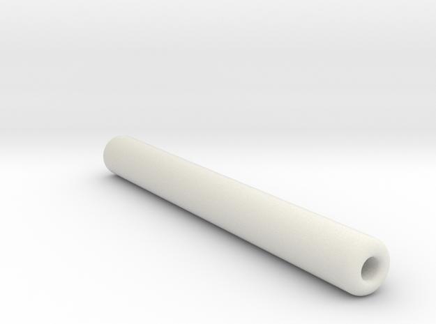 Mini Nunchucks in White Natural Versatile Plastic