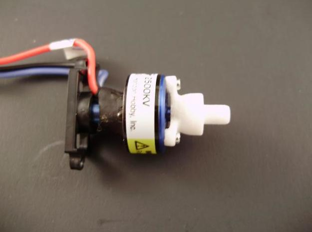 Beefy 180 prop adapter 3pc. 3d printed Adapter shown mounted on a E-Flight/Parkzone 180 BL motor. (motor not included)