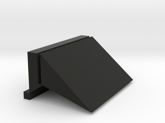 Cardcase in Black Natural Versatile Plastic