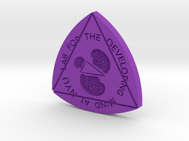 LDM@NYU 60-60-60 Shape of Constant Width in Purple Processed Versatile Plastic