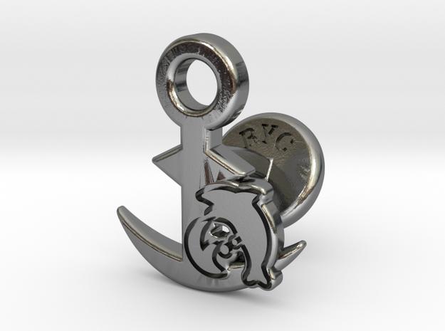 Cufflinks - Let's Hug! in Polished Silver
