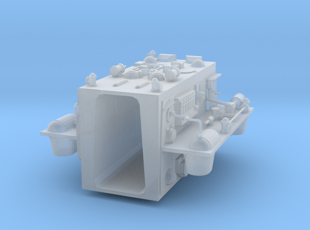"Rear insert for 12"" Eagle Kit! in Smooth Fine Detail Plastic"