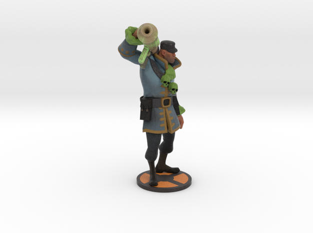 Soldier (custom request) in Full Color Sandstone