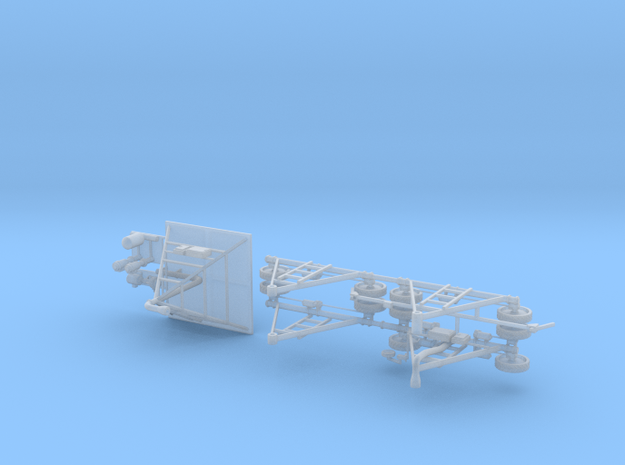 Farm Irrigation Towers in Smooth Fine Detail Plastic