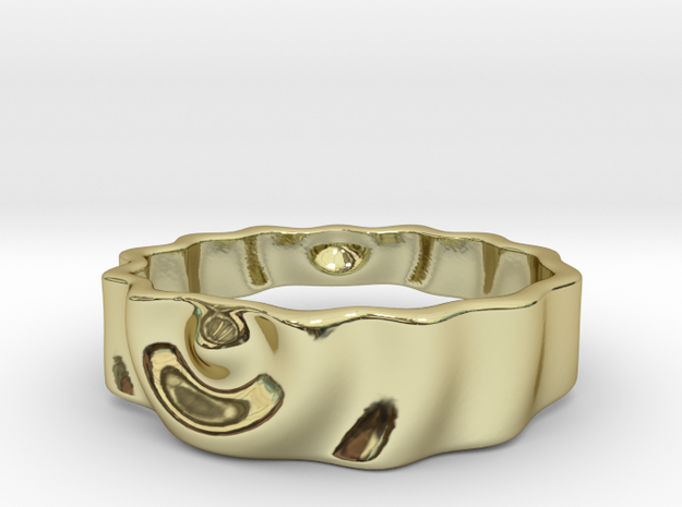 Ringpples Ring 3 in 18k Gold Plated Brass