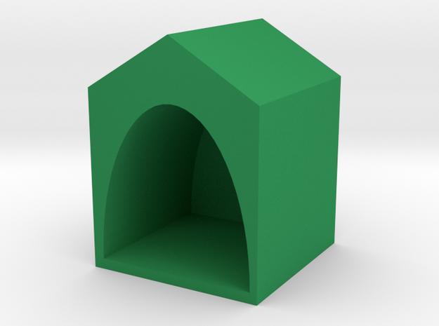 house in Green Processed Versatile Plastic