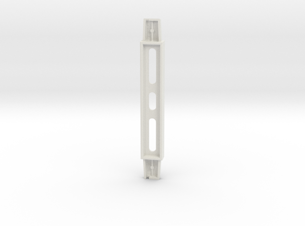 Small Column - Death Star Space Station in White Natural Versatile Plastic