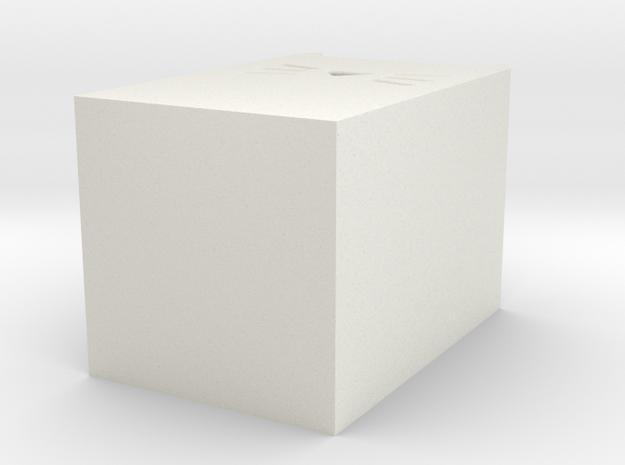 LALA Penholder  in White Natural Versatile Plastic