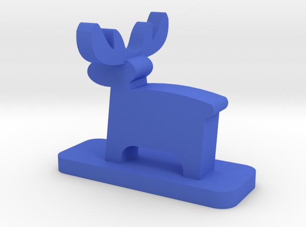 riendeer in Blue Processed Versatile Plastic