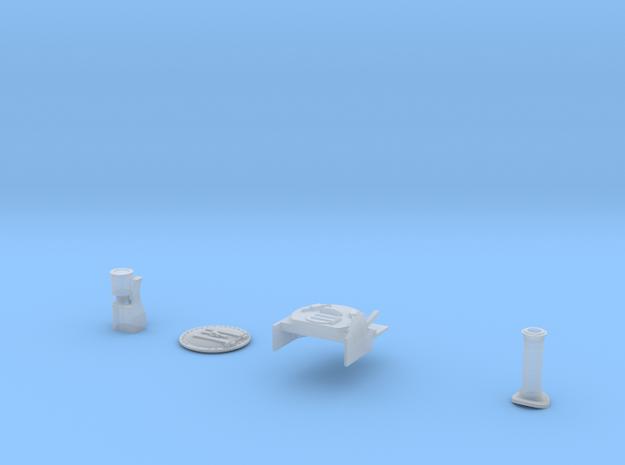 Rheneas to Dolgoch Conversion & Chimney in Smooth Fine Detail Plastic