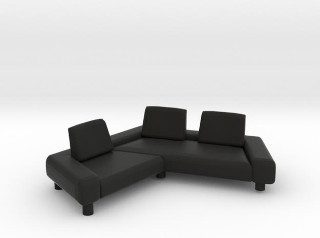 Sofa 2018 model 7 in Black Natural Versatile Plastic