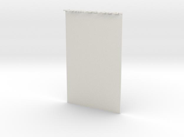 Bookmark in White Natural Versatile Plastic