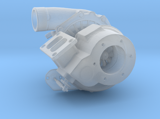 Turbocharger Type-GT3782 - 1/10 in Smooth Fine Detail Plastic