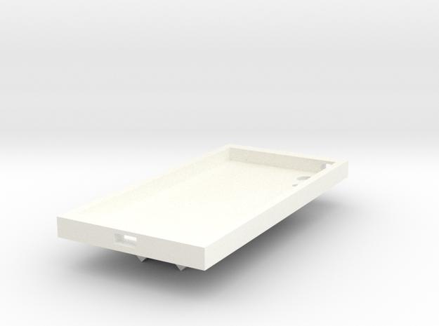 Phone case adjustable in White Processed Versatile Plastic
