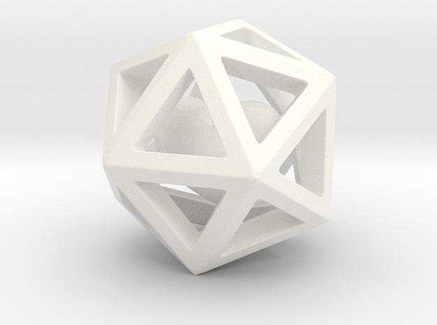 Polyhedron with interlocked heart