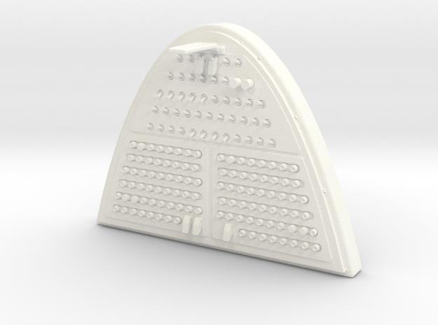 1.4 EC145 overhead panel in White Processed Versatile Plastic