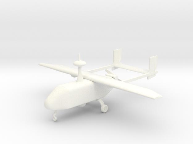 Pegasus II - UAV  in White Processed Versatile Plastic