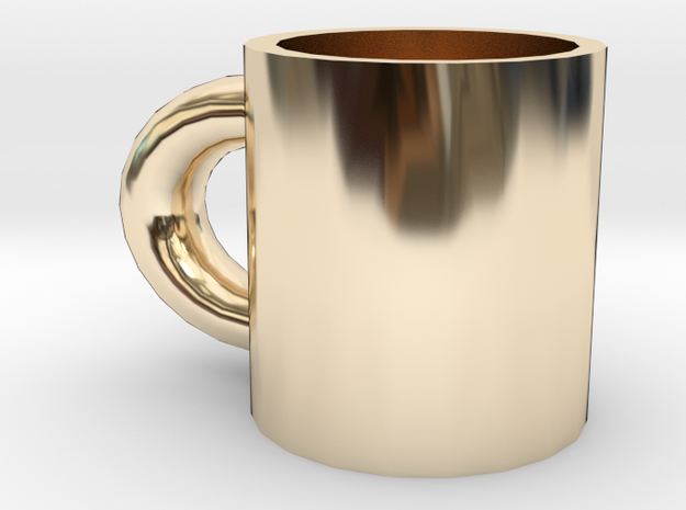 cup in 14K Yellow Gold