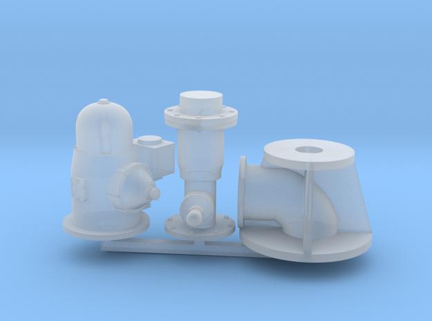 1/64 Scale Gear Head Irrigation Pump Kit