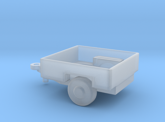 1/144 Scale M1011 HUMVEE Cargo Trailer in Smooth Fine Detail Plastic