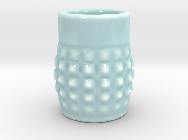 DRAW shot glass - Dirty Dan in Gloss Celadon Green Porcelain