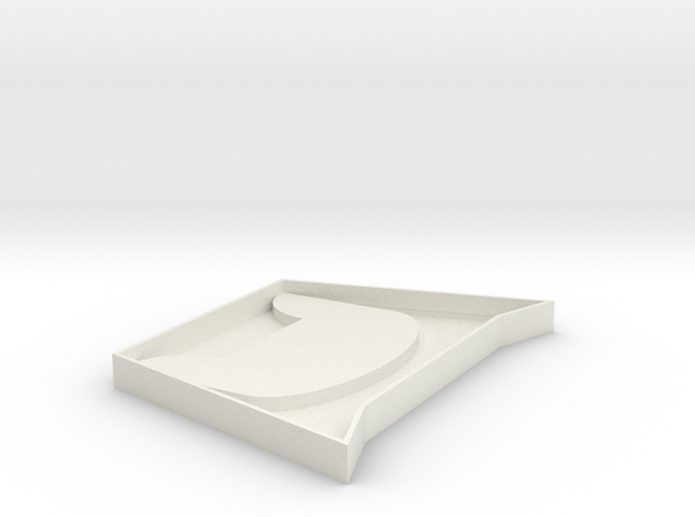 106102107呂承學 杯墊 in White Natural Versatile Plastic