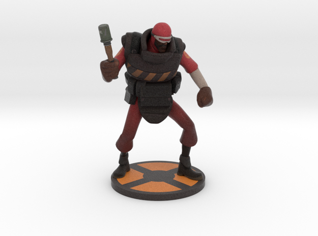 Demoman Blast blocker in Full Color Sandstone