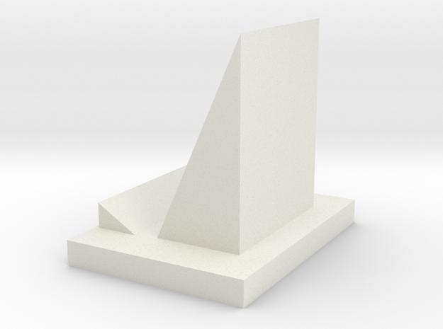 106102247phone stand in White Natural Versatile Plastic